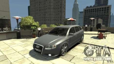 Audi A4 Avant beta for GTA 4 left view
