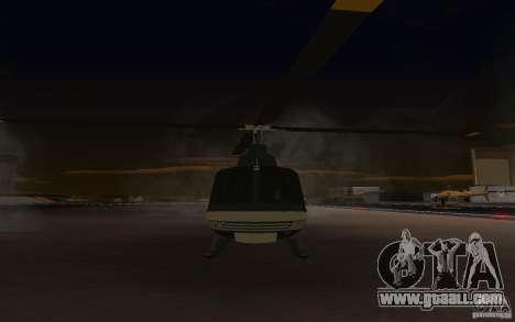 GTA IV Maverick for GTA San Andreas left view