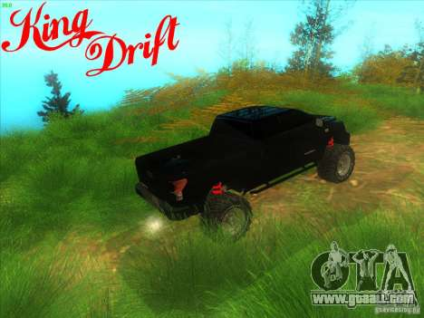 Toyota Tundra OFF Road Tuning for GTA San Andreas right view