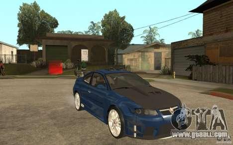 Vauxhall Monaro for GTA San Andreas back view