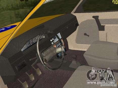 2141 AZLK GAI for GTA San Andreas back view