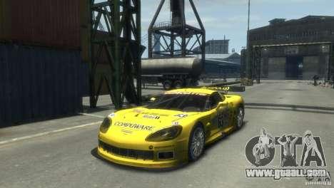 Chevrolet Corvette C6-R for GTA 4