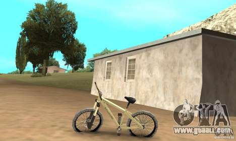 Specialized P.3 Mountain Bike v 0.8 for GTA San Andreas left view