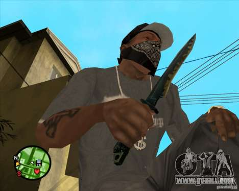 Knife from counter-strike for GTA San Andreas