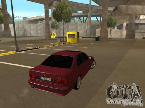 BMW E34 M5 for GTA San Andreas left view