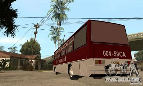 IKARUS 250.14 for GTA San Andreas back left view