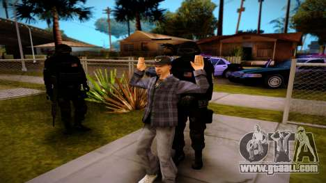 S.W.A.T. for GTA San Andreas forth screenshot