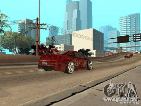 Chevrolet Cobalt SS Shift Tuning for GTA San Andreas right view