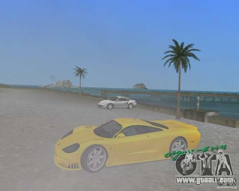 Saleen S7 for GTA Vice City right view