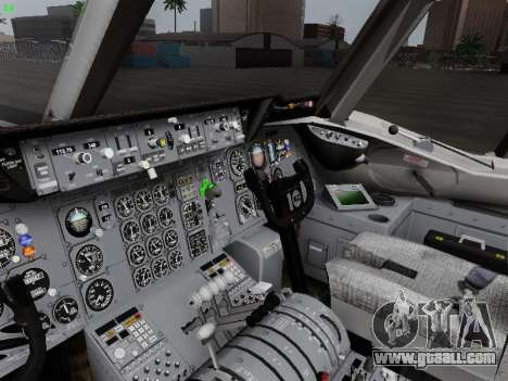 McDonell Douglas DC-10-30 KLM Royal Dutch for GTA San Andreas side view