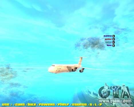 Lockheed C5-M Super Galaxy for GTA San Andreas
