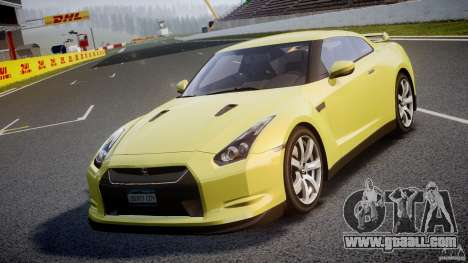 Nissan GT-R R35 2010 v1.3 for GTA 4