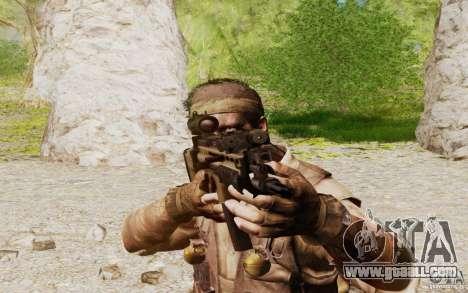 FN Scar L for GTA San Andreas forth screenshot