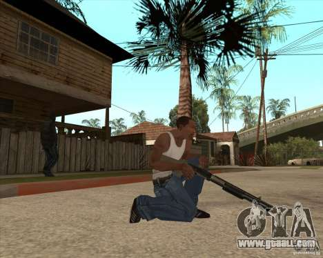 CoD:MW2 weapon pack for GTA San Andreas second screenshot