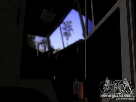 KAMAZ 53212 milk tanker for GTA San Andreas inner view