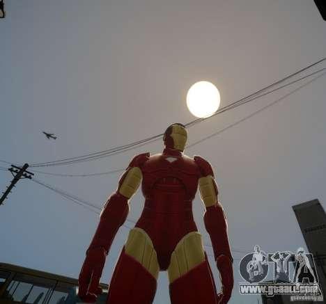 Iron Man Mk3 Suit for GTA 4 second screenshot