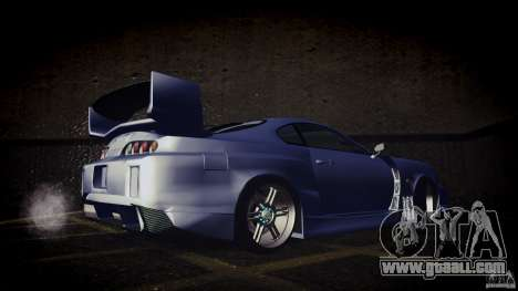 Toyota Supra Tuned for GTA San Andreas right view