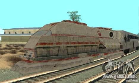 A good train, Star Wars for GTA San Andreas