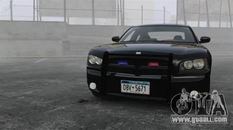 Dodge Charger RT Hemi FBI 2007 for GTA 4