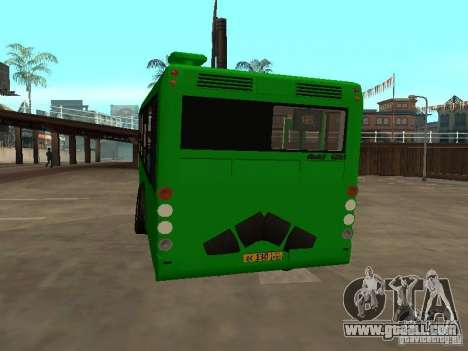 Trailer for Liaz 6213.20 for GTA San Andreas right view