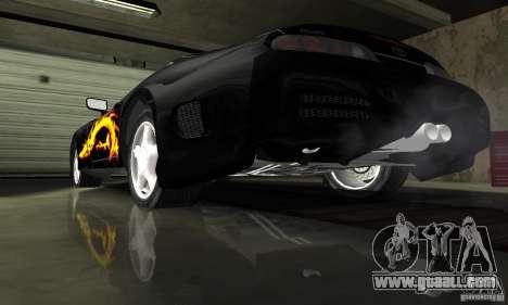 Toyota Supra Tuneable for GTA San Andreas upper view