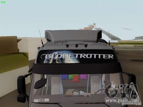 Volvo FH13 Globetrotter for GTA San Andreas upper view