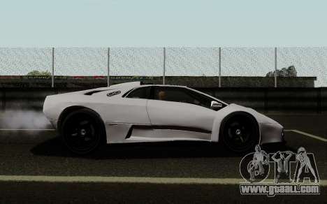 Lamborghini Diablo GTR TT Black Revel for GTA San Andreas left view