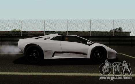 Lamborghini Diablo GTR TT Black Revel for GTA San Andreas left view