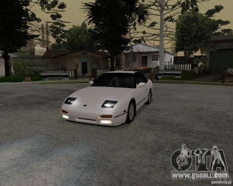Nissan 240SX (stock) for GTA San Andreas