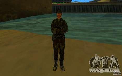 HQ skin Army for GTA San Andreas forth screenshot