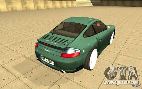 Porsche 911 Turbo for GTA San Andreas side view