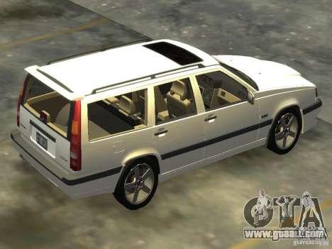 Volvo 850 R 1996 Rims 2 for GTA 4 left view
