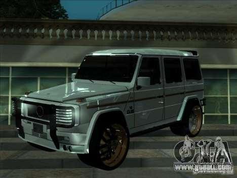 ENB series for weak video card for GTA San Andreas third screenshot