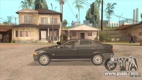 BMW 316i E36 for GTA San Andreas left view