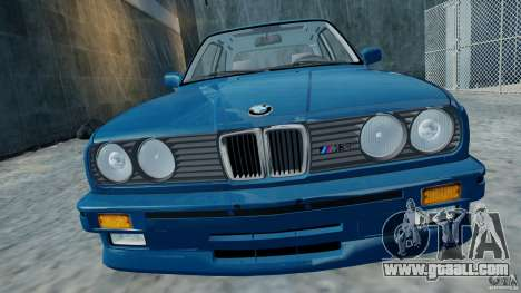 BMW M3 E30 FINAL for GTA 4 back left view