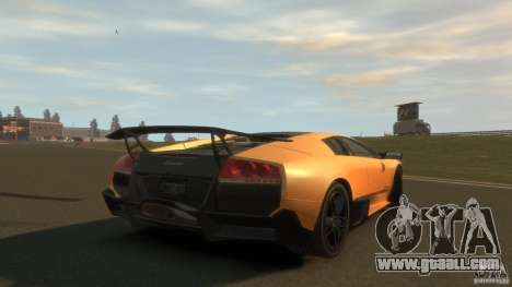 Lamborghini Murcielago VS LP 670 FINAL for GTA 4 back left view