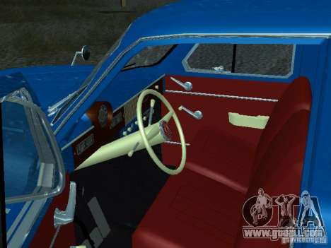 Moskvich 429 for GTA San Andreas back view