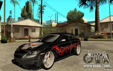 Mazda RX8 Underground Tuning for GTA San Andreas