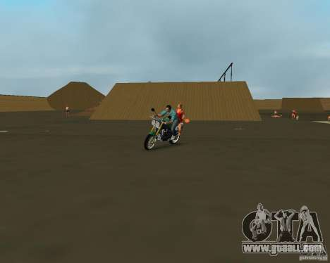 Triumph Speed Triple for GTA Vice City right view