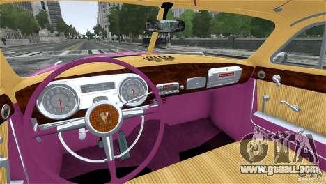 Hudson Hornet Coupe 1952 for GTA 4 side view
