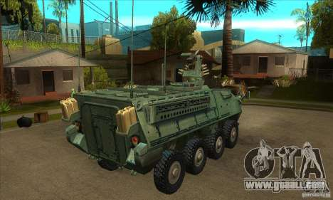 Stryker for GTA San Andreas right view