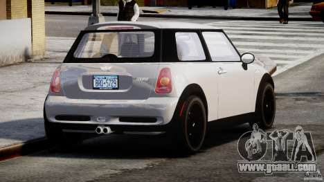 Mini Cooper S 2003 v1.2 for GTA 4 side view