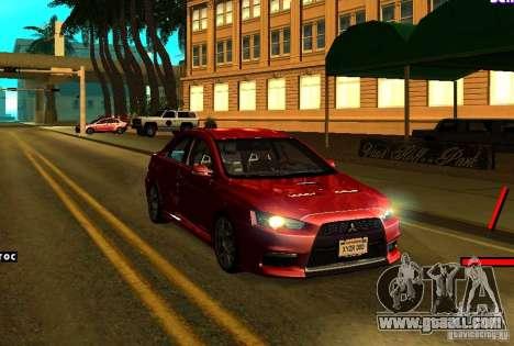 ENBSeries for weak PC for GTA San Andreas