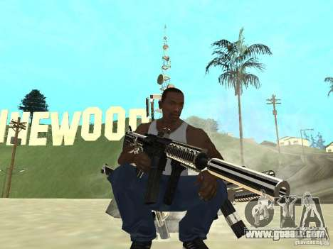Weapons Pack for GTA San Andreas forth screenshot