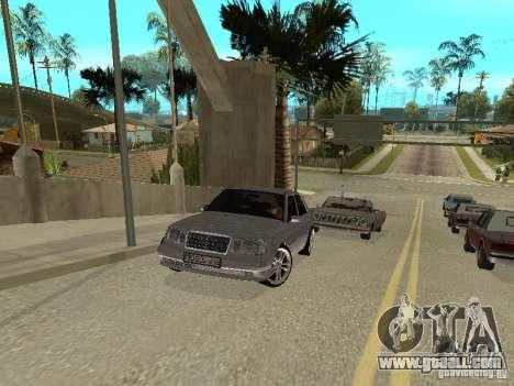 Mercedes-Benz W124 E500 for GTA San Andreas left view