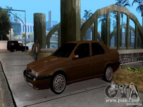 Alfa Romeo 155 for GTA San Andreas left view