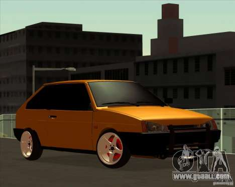 VAZ 2108 (version with white discs) for GTA San Andreas
