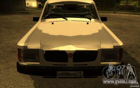 GAZ Volga 311021 for GTA San Andreas right view