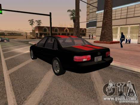 Chevrolet Impala SS 1995 for GTA San Andreas side view
