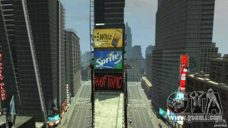 Time Square Mod for GTA 4 forth screenshot